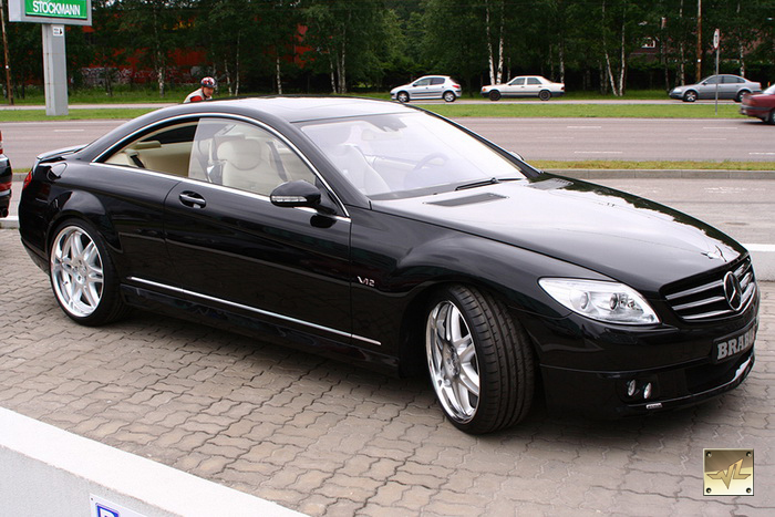 Mercedes cl 600 brabus price for Mercedes benz cl600 price