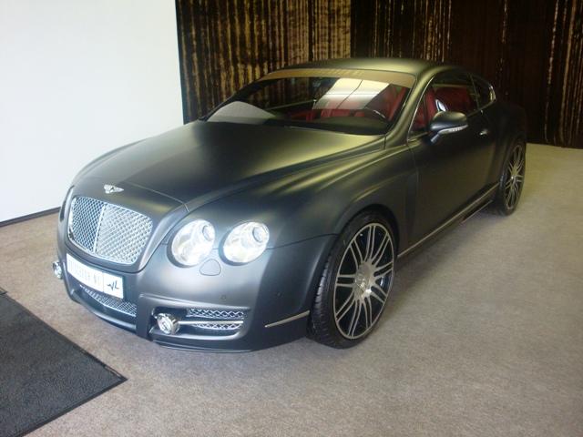 МАТОВЫЙ БРИЛЛИАНТ Bentley GT Mansory.