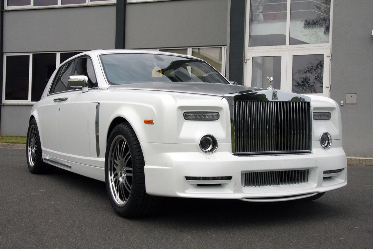 Rolls Royce Conquistador white